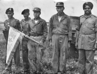 Photo of Canadian, Korean, and Indian soldiers taken by Czechoslovak soldiers during the peace mission in Korea
