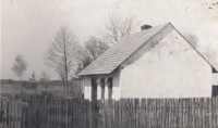 The Pánek family house in Vlkov, 1960s