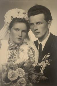 Vincent Holly and Cecilia Surmanova, wedding photo