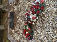 grave of a unknown Romanian soldier under Klak