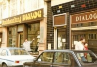 the Dialogue bookshop in the 1980s