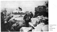 division Tatra advancing into Rajecka valley