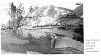 Battle of Fackov pass - attack of German units (reconstruction)