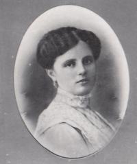 Jaroslav Pánek's mother Božena née Klípová, circa 1920