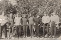 Sambir, 1968, 7th or 8th grade; far left - Zoryan Popadyuk