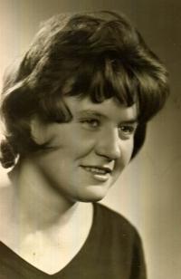 Jarmila Ondrášková in 1961