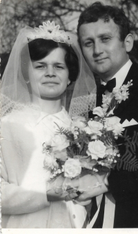 1970 - the wedding of Václav Herout