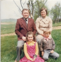 1979 - the family of Václav Herout