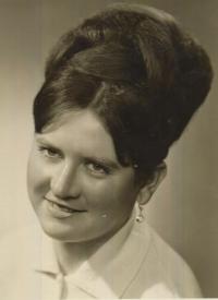Jarmila Ondrášková in 1964