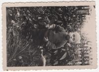 1955, June 6, Sambir, Zoryan Popadyuk as a child