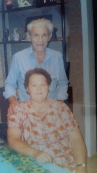 Anna and Cvi in 1995