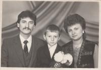 Пані Юлія із своєю сім'єю