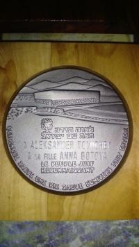 The Righteous Among the Nations Award for Anna Butová and Alexander Tomíček