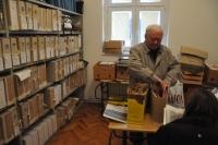 The archive in Česká beseda in Daruvar