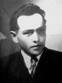 Her husband, Karel Divoký circa 1944