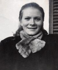 Helena Divoká circa 1948