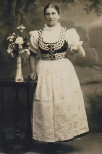 witness´s grandmother Rosálie Žáková