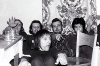 In the hall of residence in Warsaw, the second half of the 1970s