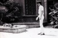 Tuan Nguyen in Warsaw in 1983