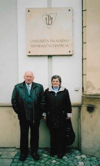 In 2007 in Olomouc before defending his doctorate´s degreee