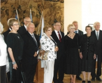 In 2015 with Minister Zaorálek at the Gratias Agit Award