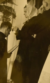 Prime divine service June 4, 1944, blessing from his mother