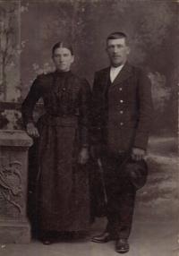 the Žáks grandparents