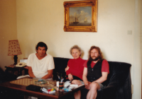 Visiting Lída Baarová inSalzburg