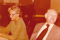 Discussion with Adina Mandlová and compatriots, 1970s - 1980s