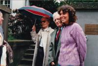 Lída Baarová, František Goldschneider, Cologne, Cultural Center Ignis, Spring 1989