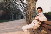 Václav Hora in Frankfurt in 1985