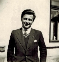 Josef Horký in his youth