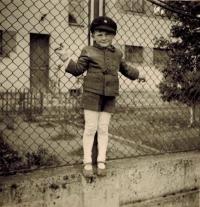 Josef Horký at school age