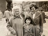 Grandmother Pavla, mnother and Pavla, 1962