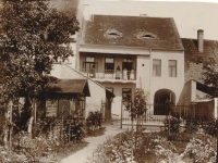 Žebrák house no. 22 (the Vorel family), 1912