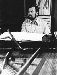 Karel Růžička – pianist and Miloš's best friend, Prague 1979