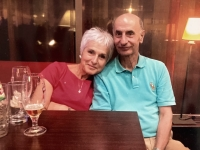 Pavla Alter with her husband