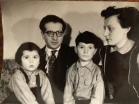 The Kosta family, 1956