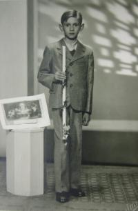 Rostislav Zapletal in his youth