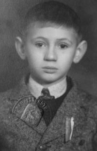 Rostislav Zapletal in his childhood