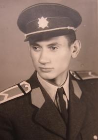 Rostislav Zapletal in army uniform