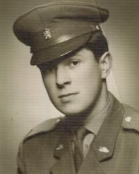 Ladislav Jakub at military school