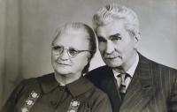 Antonia and Gustav Josef Maláč, the parents of the witness, circa 1967