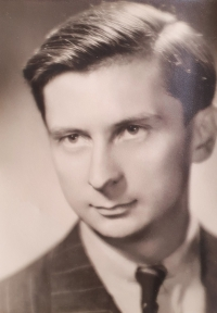 A period portrait photo of Vlastislav Maláč, Prague around 1945