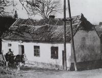 The family house in Heršpice near Slavkov, the birth house of a grandfather Josef Maláč