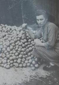 Žofie Slováčková in 1959