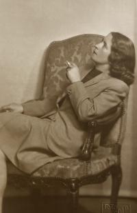 Grandmother Pavla Kostová