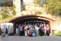 Graduates reunion after 30 years, at the castle, Fiľakovo 2006