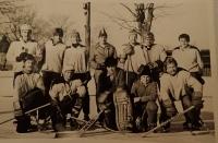 Ice hockey, a hobby