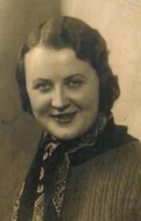 Her mother Emílie 1930s